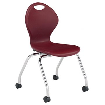 "Inspiration Seating Series Ergonomic School Chair - 18"" with Casters"
