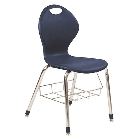 Inspiration Seating Series Ergonomic School Chair - With Bookbasket