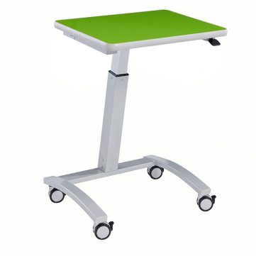 "Surge Series Sit to Stand - with High Pressure Laminate Top - Desk Height 29""-42"""