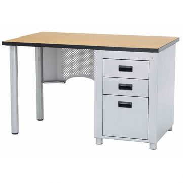 Nate Series Single Pedestal Desk