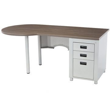 Nate Series Peninsula Desk