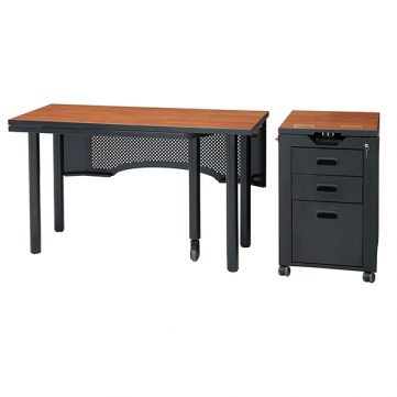 Nate Series Teachers Station with Mobile Podium