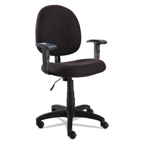 Alera Essentia Series Swivel Task Chair with Adjustable Arms
