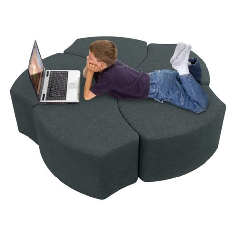 Economy Gray Shapes Soft Seating