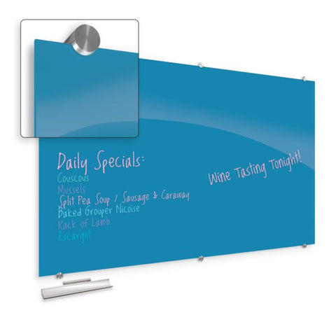 Visionary Colors - Magnetic Glass Dry Erase Whiteboard