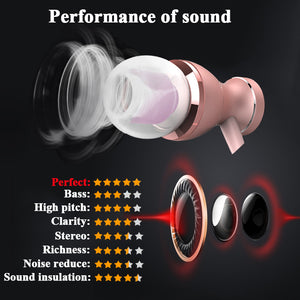 In-Ear Earphone Headset In-line Control Magnetic Clarity Stereo Sound With Mic Earphones For iPhone Mobile Phone MP3 MP4