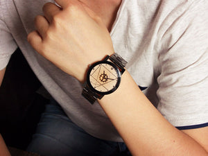 Luxury Men's Pluto Wristwatch