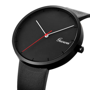 Juilen Minimal Leather Quartz Watch