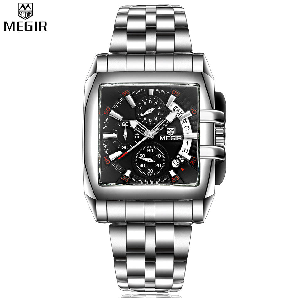 Julien MEGIR Chronograph Business Watch