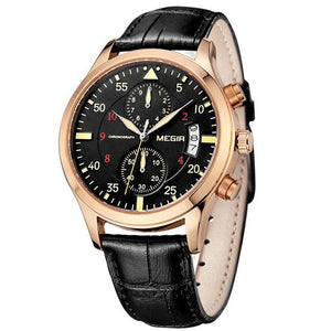 Megir Antique Men Sport Chronographs