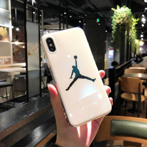 New Silicone Case for Coque iPhone X 10 iPhoneX Michael Jordan Air 23 Basketball Cover for iPhone 6 6s 7 8 Plus i6 i7