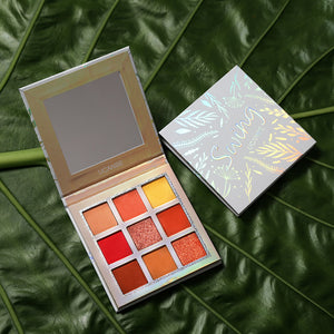Shimmer Matte Eyeshadow Makeup Palette 9 Colors Nude Glow