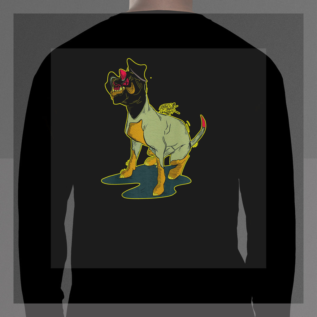 dogisaurus pop #1 Long Sleeve T-Shirt - brotherconk_thexface