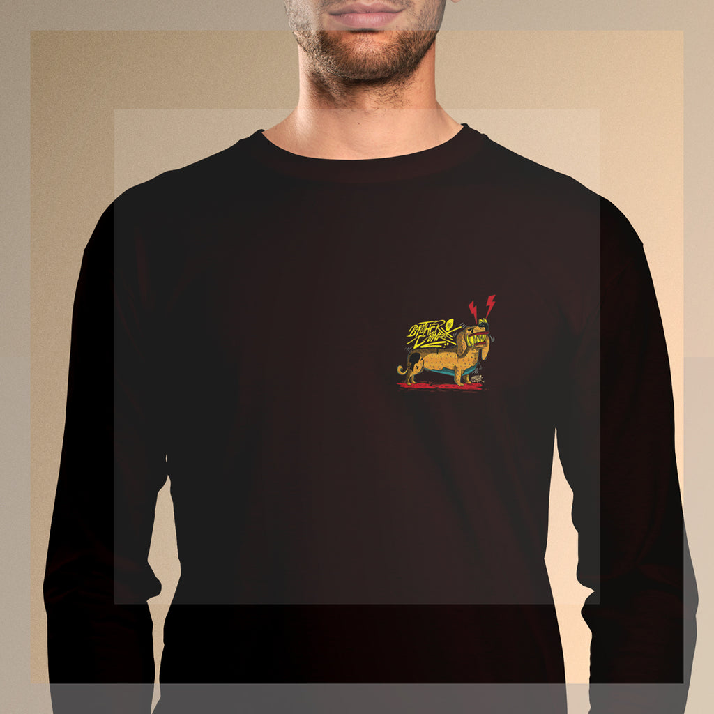dogisaurus pop #2 Long Sleeve T-Shirt - brotherconk_thexface