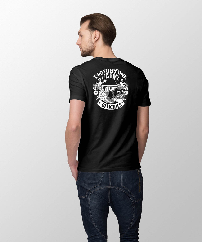 kustoms Short-Sleeve Unisex T-Shirt - brotherconk_thexface