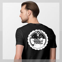 dogie round Short-Sleeve Unisex T-Shirt - brotherconk_thexface