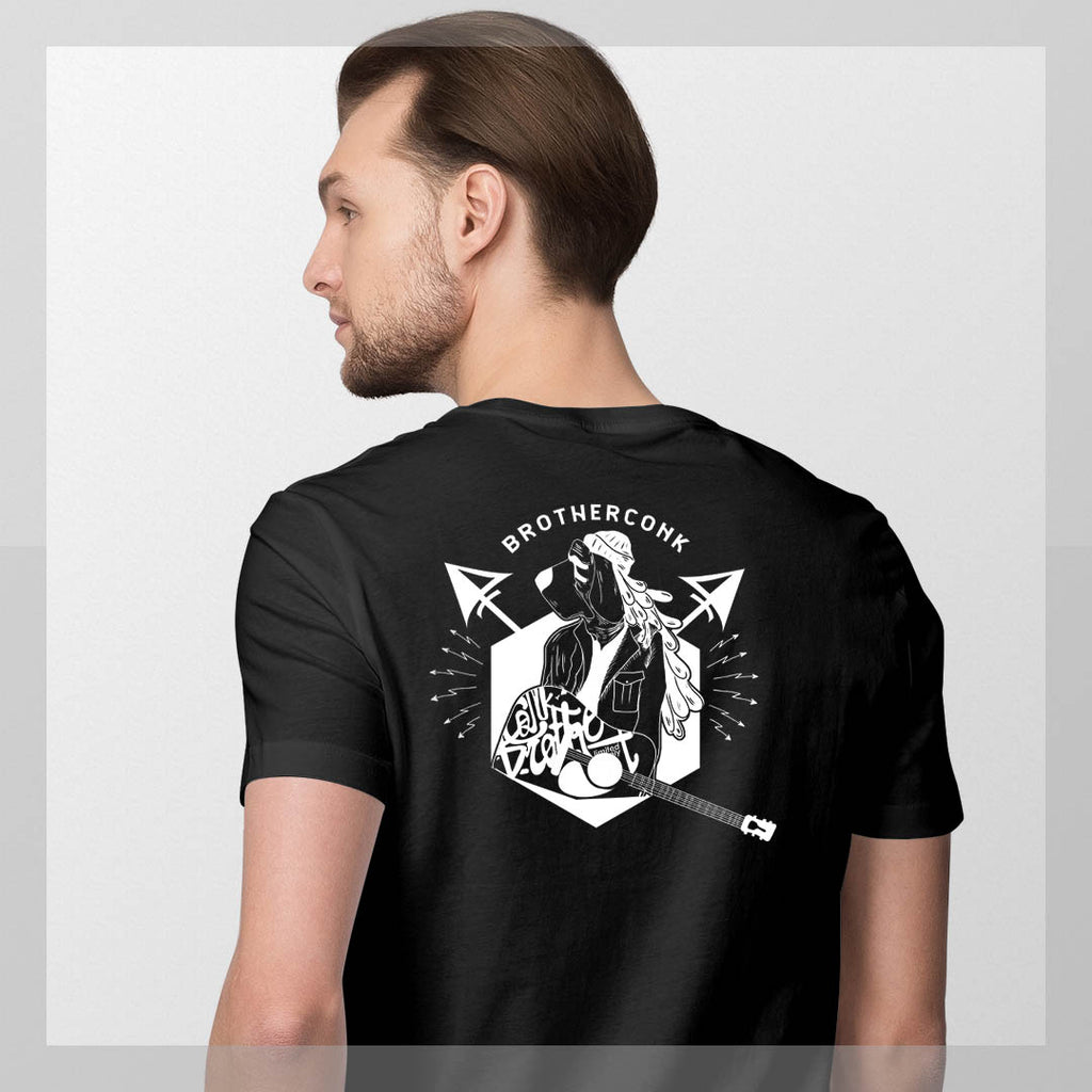 lone some Short-Sleeve Unisex T-Shirt - brotherconk_thexface