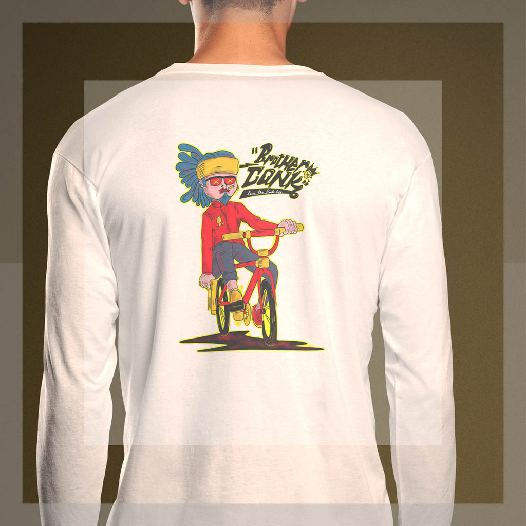 Long Sleeve T-Shirt - brotherconk_thexface