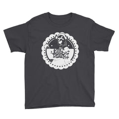 dogie round Youth Short Sleeve T-Shirt - brotherconk_thexface