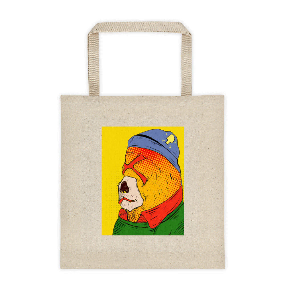mr bear Tote bag - brotherconk_thexface
