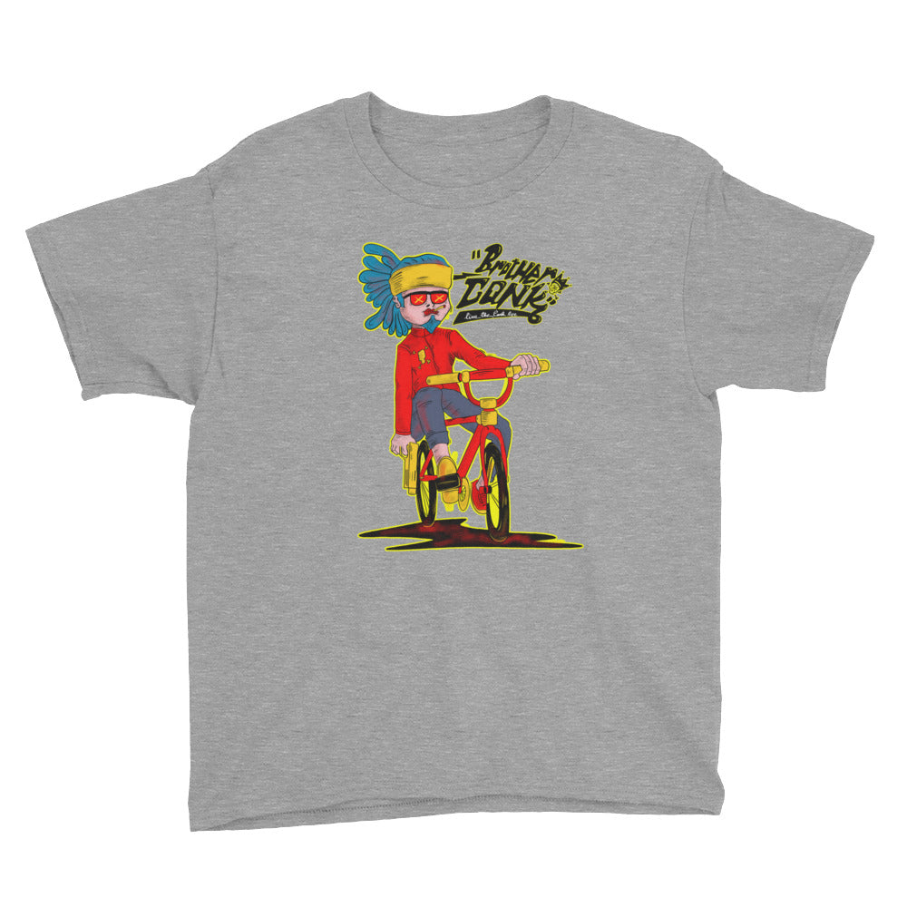 bike 1Youth Short Sleeve T-Shirt - brotherconk_thexface