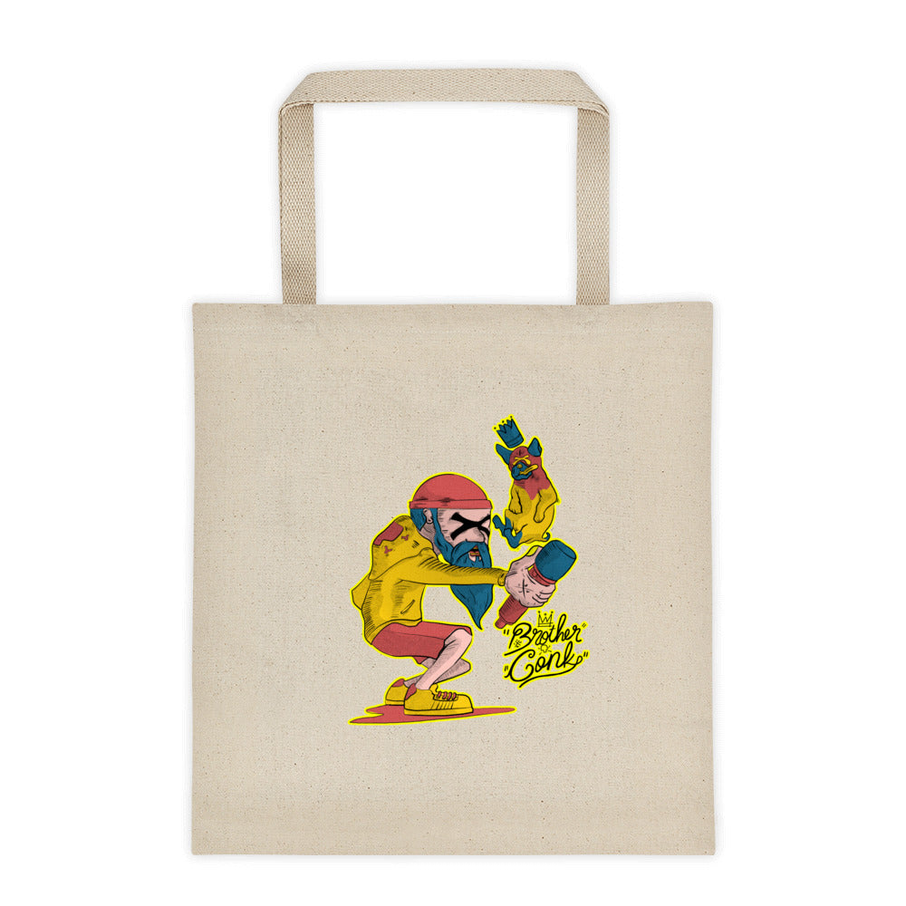 Tote bag - brotherconk_thexface