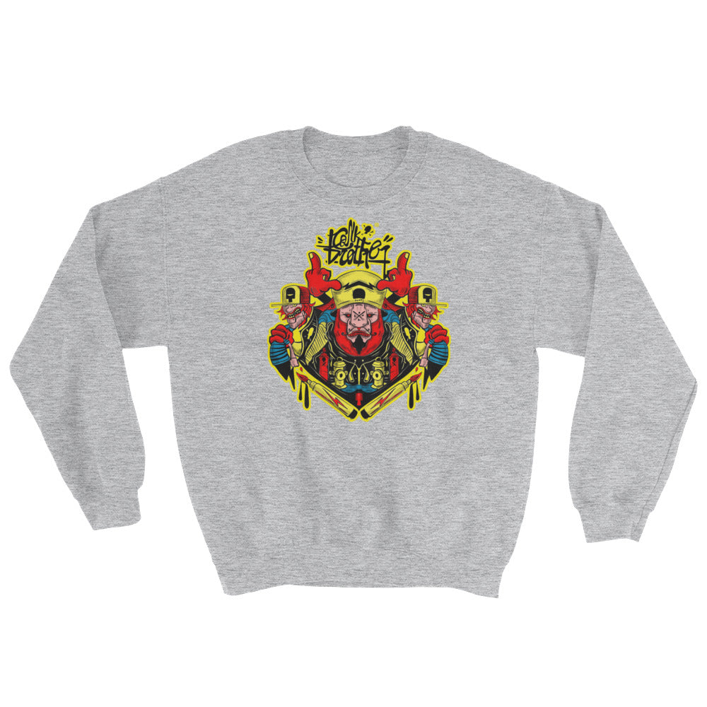 hail to the chief Sweatshirt - brotherconk_thexface