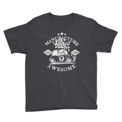 bs 3 dark  Youth Short Sleeve T-Shirt - brotherconk_thexface