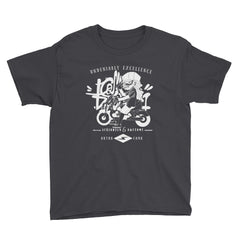 seriously  dark Youth Short Sleeve T-Shirt - brotherconk_thexface