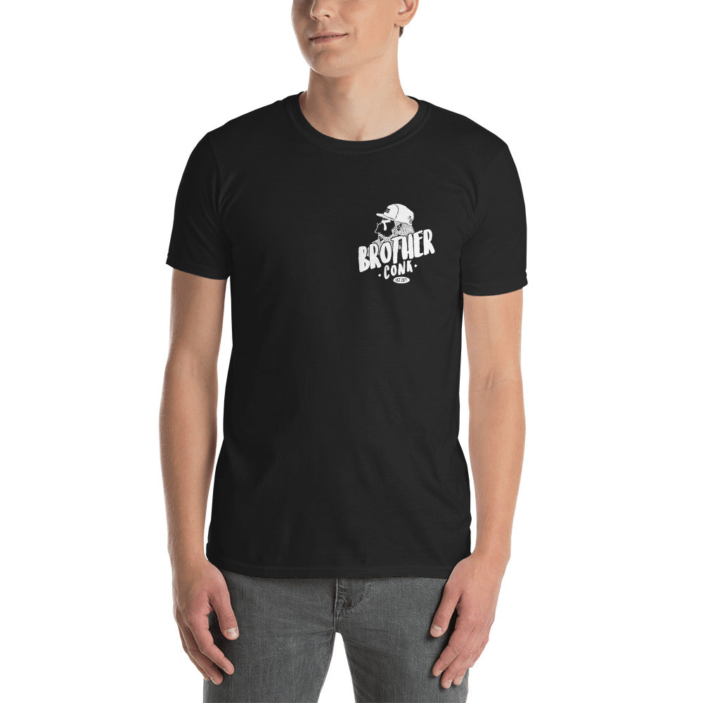 mocy hipster  logo Short-Sleeve Unisex T-Shirt - brotherconk_thexface
