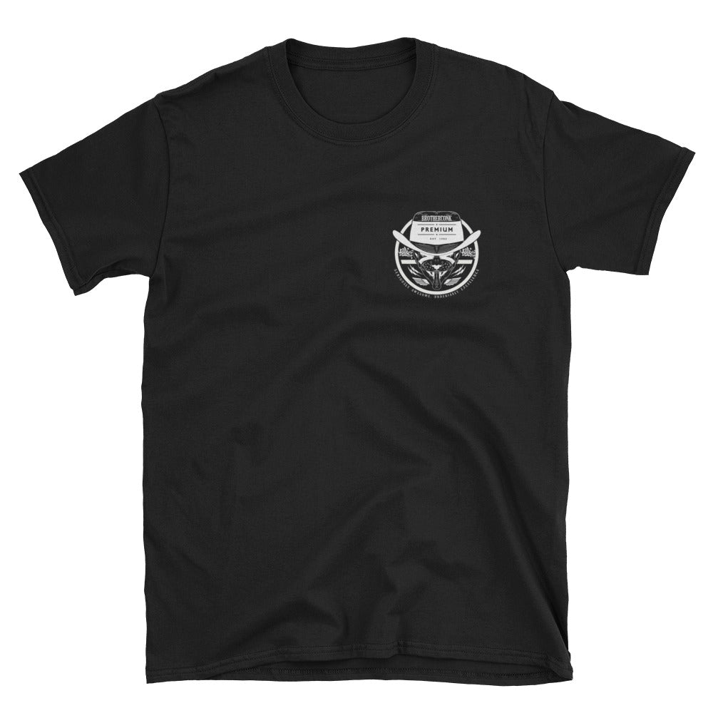 sphinx bowler round  Short-Sleeve Unisex T-Shirt - brotherconk_thexface