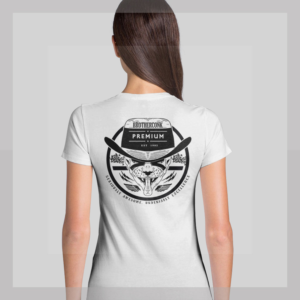 sphinx bowler light  bck Ladies' T-shirt - brotherconk_thexface