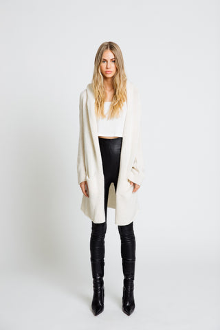 COLLETTE CASHMERE SWEATER | CHALK