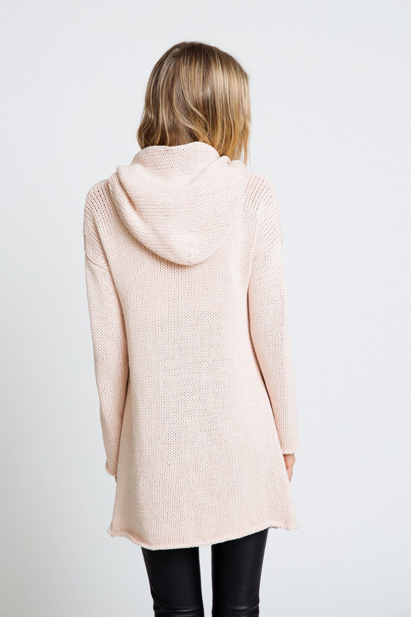 COLLETTE CASHMERE SWEATER | POWDER