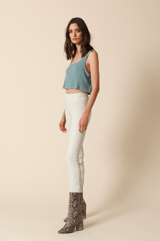 GEORGINA COTTON TANK | ICE