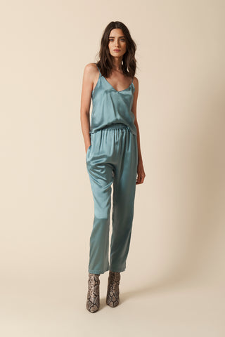 MILLE SILK PANT | ICE