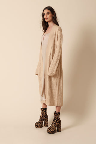 VANESSA CASHMERE COAT | CAMEL - FINAL SALE