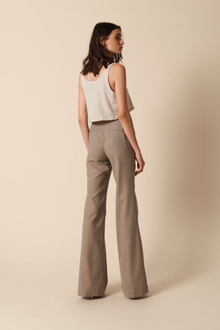 IRIS WOOL PANTS | TUSCAN