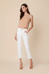 NORI DENIM SKINNY | WHITE
