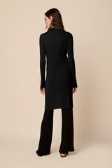 BEA CASHMERE DRESS | BLACK