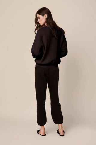 MASON FLEECE SWEATPANTS  | BLACK