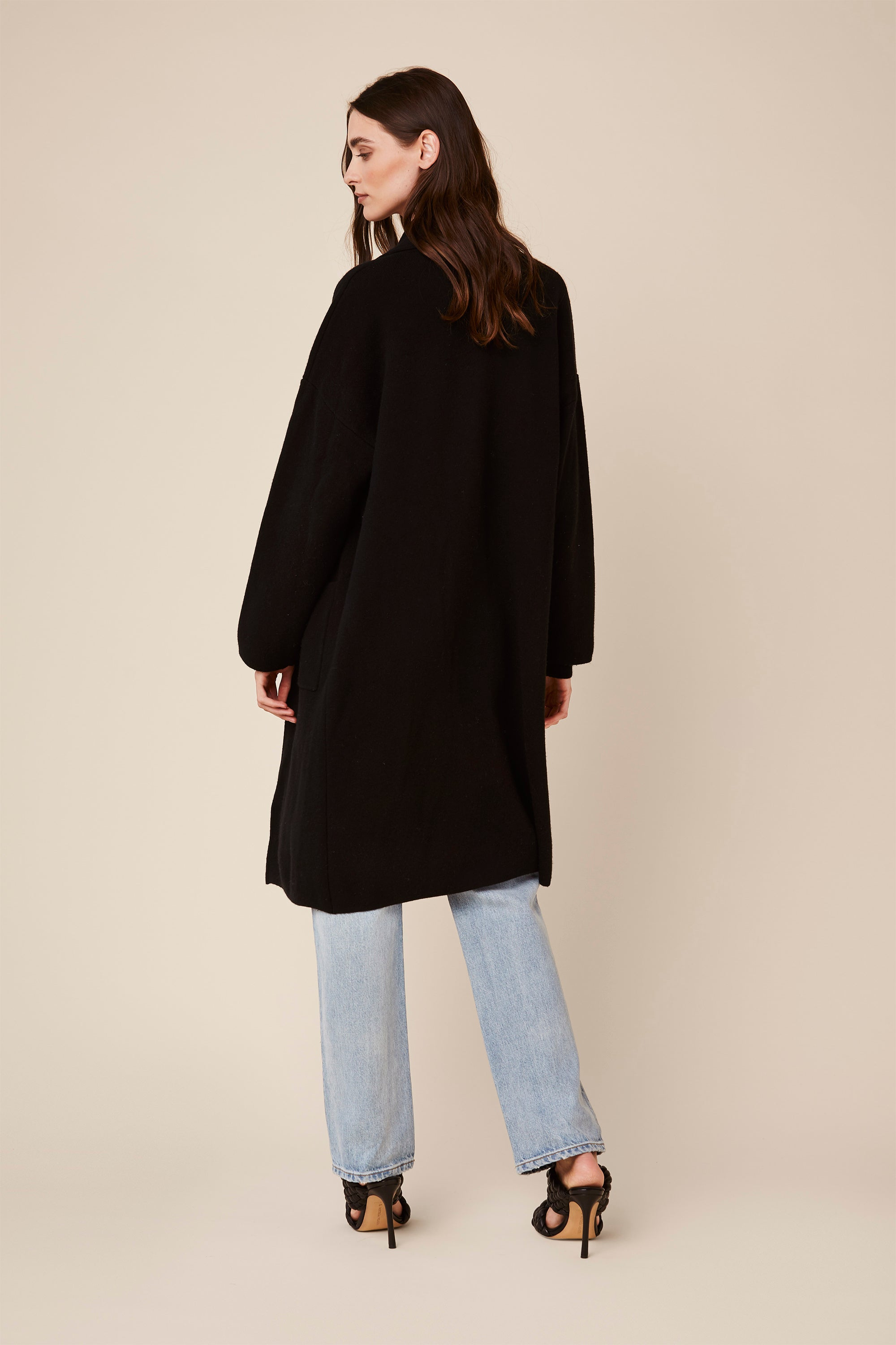 LUKA CASHMERE COAT | BLACK