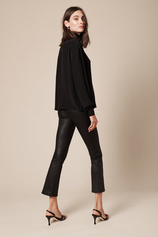 CLAUDIA BLOUSE | BLACK - FINAL SALE