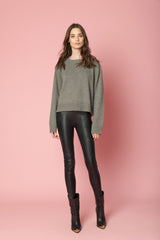 AMY CASHMERE PULL OVER | OTTER