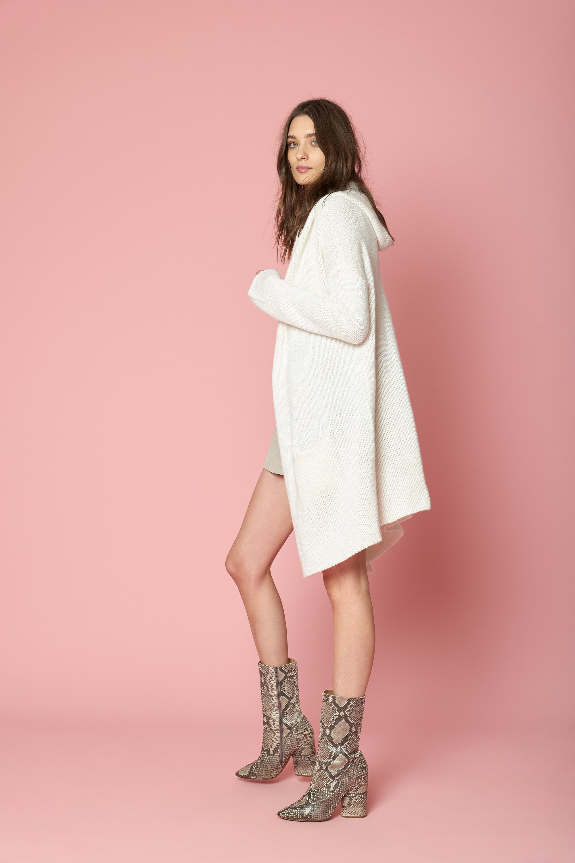 COLLETTE SEQUINED CASHMERE SWEATER | MILK