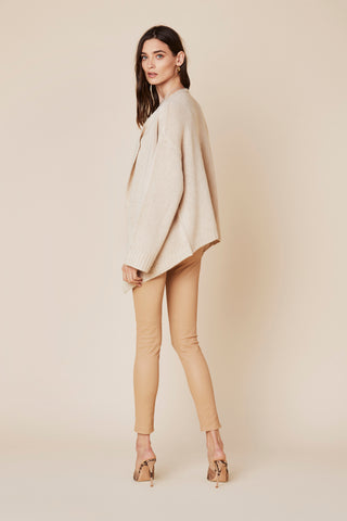 TESSA CASHMERE SWEATER | FAWN - FINAL SALE