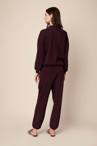 MASON  SWEATPANT | BORDEAUX