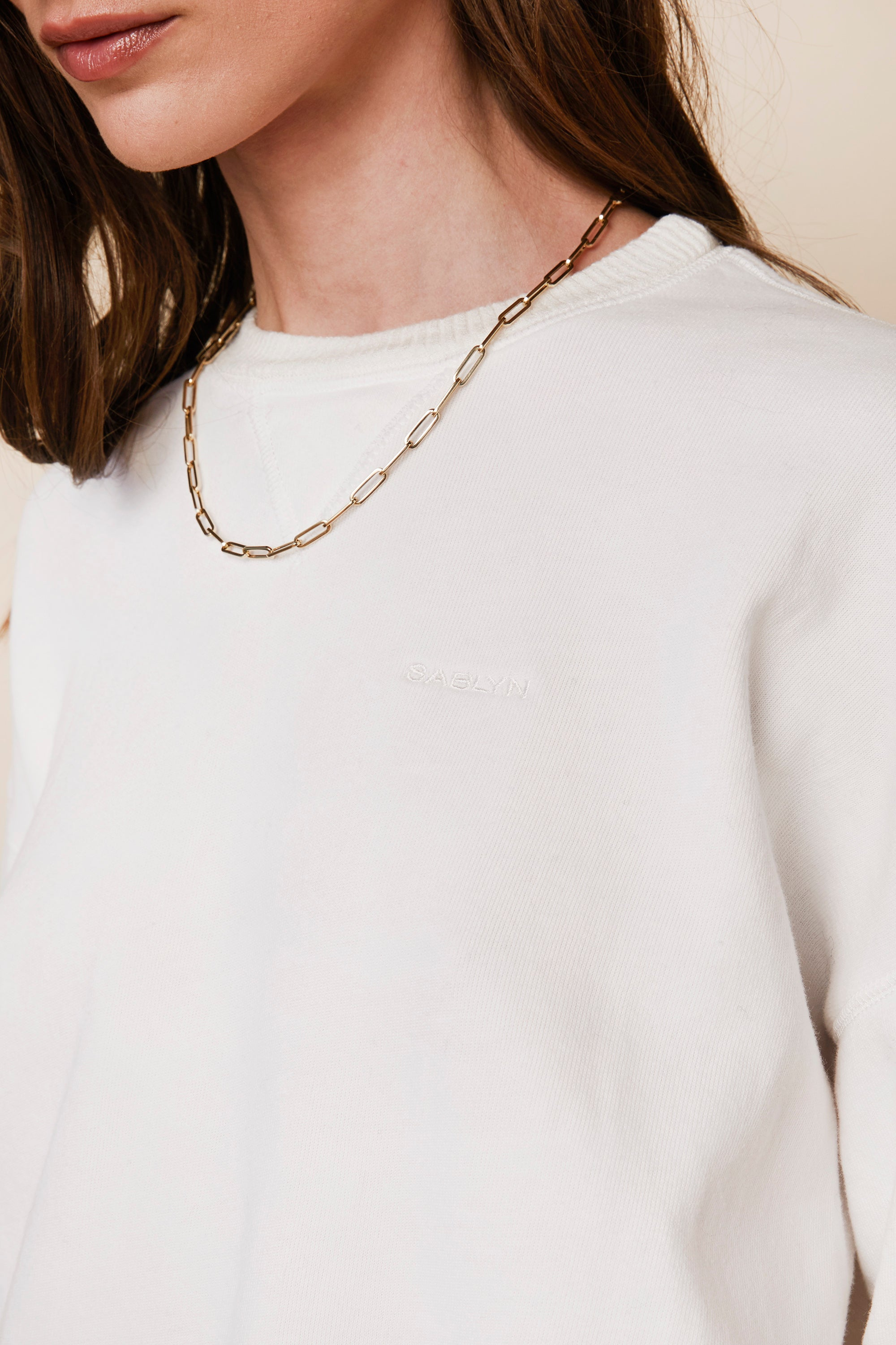 SABLYN X Jaimie Geller Jewelry 14k Paperclip Chain