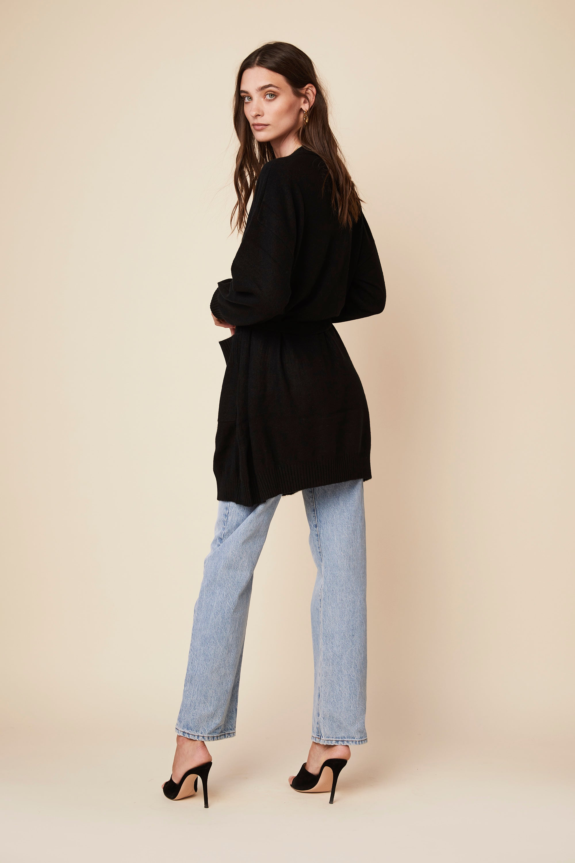 GABRIEL CASHMERE COAT | BLACK