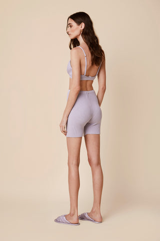 DAWN FITTED SHORT | LAVENDER